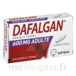 DAFALGAN ADULTES 600 mg, suppositoire à Saint-Avold