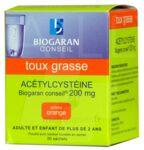 ACETYLCYSTEINE BIOGARAN CONSEIL 200 mg, poudre pour solution buvable en sachet à Saint-Avold
