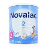 NOVALAC LAIT 2 BOITE 800G à Saint-Avold