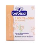 Bébisol Bouts de sein en silicone extra-fins / boite de 2 à Saint-Avold