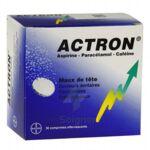 ACTRON, comprimé effervescent à Saint-Avold