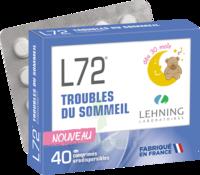 Lehning L72 Comprimés Orodispersibles Plq Pvc/pvdc/alu/40 à Saint-Avold