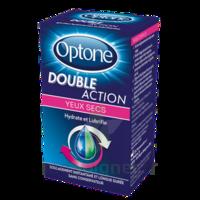 Optone Double Action Solution Oculaire Yeux Secs Fl/10ml à Saint-Avold