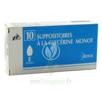 Suppositoires A La Glycerine Monot Enfants à Saint-Avold