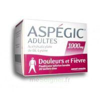 Aspegic Adultes 1000 Mg, Poudre Pour Solution Buvable En Sachet-dose 20 à Saint-Avold