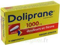 Doliprane 1000 Mg Suppositoires Adulte 2plq/4 (8) à Saint-Avold