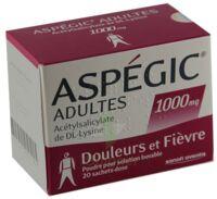 Aspegic Adultes 1000 Mg, Poudre Pour Solution Buvable En Sachet-dose 15 à Saint-Avold