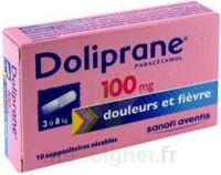 Doliprane 100 Mg Suppositoires Sécables 2plq/5 (10) à Saint-Avold