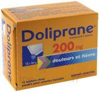 Doliprane 200 Mg Poudre Pour Solution Buvable En Sachet-dose B/12 à Saint-Avold