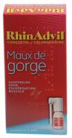 Rhinadvil Maux De Gorge Tixocortol/chlorhexidine, Suspension Pour Pulvérisation Buccale à Saint-Avold