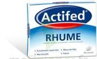 ACTIFED RHUME, comprimé à Saint-Avold