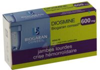 DIOSMINE BIOGARAN CONSEIL 600 mg, comprimé pelliculé à Saint-Avold