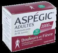 Aspegic Adultes 1000 Mg, Poudre Pour Solution Buvable En Sachet-dose 30 à Saint-Avold