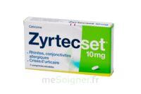 ZYRTECSET 10 mg, comprimé pelliculé sécable à Saint-Avold