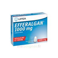 Efferalgan 1000 Mg Comprimés Pelliculés Plq/8 à Saint-Avold