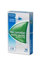 NICORETTE 2 mg Gom à mâcher médic sans sucre menthe glaciale Plq/30gom à Saint-Avold