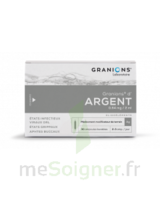 Granions D'argent 0,64 Mg/2 Ml S Buv 30amp/2ml à Saint-Avold