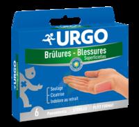 Urgo Brulures-blessures Petit Format X 6 à Saint-Avold
