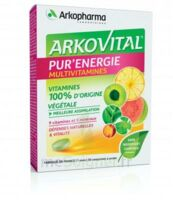 Arkovital Pur'energie Multivitamines Comprimés Dès 6 Ans B/30 à Saint-Avold