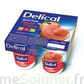 DELICAL NUTRA'POTE DESSERT AUX FRUITS, 200 g x 4 à Saint-Avold
