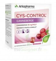 Cys-Control 36mg Poudre orale 20 Sachets/4g à Saint-Avold