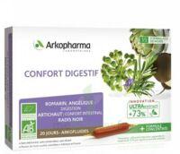 Arkofluide Bio Ultraextract Solution Buvable Confort Digestif 20 Ampoules/10ml à Saint-Avold