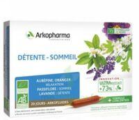 Arkofluide Bio Ultraextract Solution Buvable Détente Sommeil 20 Ampoules/10ml à Saint-Avold