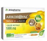 Arkoroyal Gelée royale bio 1000 mg Solution buvable 20 Ampoules/10ml à Saint-Avold