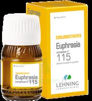 Lehning Complexe Euphrasia N° 115 Solution Buvable Fl/30ml