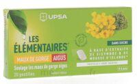 Les Elémentaires Sans Sucre Pastilles Maux De Gorge Aigus Menthe B/20 à Saint-Avold