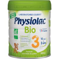 Physiolac Bio Lait 3éme Age 800g à Saint-Avold