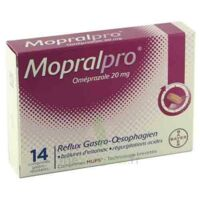 MOPRALPRO 20 mg Cpr gastro-rés Film/14 à Saint-Avold