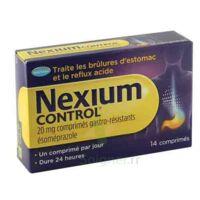 NEXIUM CONTROL 20 mg Cpr gastro-rés Plq/14 à Saint-Avold