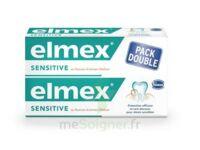 ELMEX SENSITIVE DENTIFRICE, tube 75 ml, pack 2 à Saint-Avold