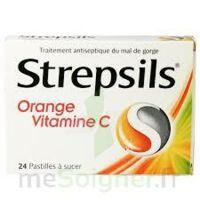 STREPSILS ORANGE VITAMINE C, pastille à Saint-Avold
