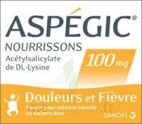 Aspegic Nourrissons 100 Mg, Poudre Pour Solution Buvable En Sachet-dose à Saint-Avold