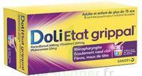DOLI ETAT GRIPPAL PARACETAMOL/VITAMINE C/PHENIRAMINE 500 mg/200 mg/25 mg, poudre pour solution buvable en sachet à Saint-Avold