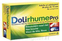 DOLIRHUMEPRO PARACETAMOL, PSEUDOEPHEDRINE ET DOXYLAMINE, comprimé à Saint-Avold