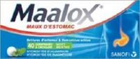 Maalox Hydroxyde D'aluminium/hydroxyde De Magnesium 400 Mg/400 Mg Cpr à Croquer Maux D'estomac Plq/40 à Saint-Avold