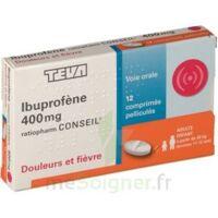 IBUPROFENE TEVA CONSEIL 400 mg, comprimé pelliculé à Saint-Avold