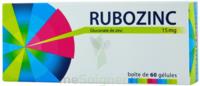 Rubozinc 15 Mg Gél 1plq/60 à Saint-Avold