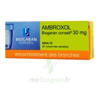 AMBROXOL BIOGARAN CONSEIL 30 mg, comprimé sécable à Saint-Avold
