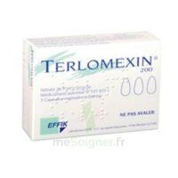 Terlomexin 200 Mg, Capsule Molle Vaginale à Saint-Avold