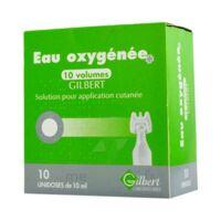 Eau Oxygenee 10 Volumes Gilbert, Solution Pour Application Cutanée En Récipient Unidose à Saint-Avold