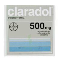 CLARADOL 500 mg, comprimé effervescent sécable à Saint-Avold