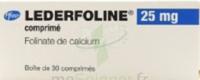Lederfoline 25 Mg, Comprimé à Saint-Avold