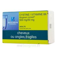 CYSTINE/VITAMINE B6 BIOGARAN CONSEIL 500 mg/50 mg Cpr pell Plq/120 à Saint-Avold