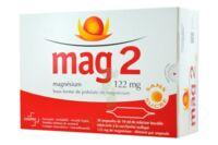 MAG 2 SANS SUCRE 122 mg, solution buvable en ampoule édulcoré à la saccharine sodique à Saint-Avold