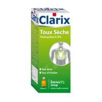 Clarix Toux Seche Pentoxyverine 0,15 % Enfants, Sirop à Saint-Avold
