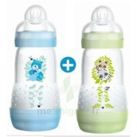 MAM BIBERON EASY START anti-colique 260 ml lot de 2_ BLEU & VERT à Saint-Avold